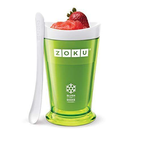 """<p><strong>Zoku</strong></p><p>amazon.com</p><p><strong>$22.99</strong></p><p><a href=""""https://www.amazon.com/dp/B00EVHRYIE?tag=syn-yahoo-20&ascsubtag=%5Bartid%7C10067.g.37388696%5Bsrc%7Cyahoo-us"""" rel=""""nofollow noopener"""" target=""""_blank"""" data-ylk=""""slk:Shop Now"""" class=""""link rapid-noclick-resp"""">Shop Now</a></p><p>""""I'll be sending the summer out in frozen style with this forzen-core cup that turns anything you put into it into a slushy in minutes. Did somebody say 'frosé'?""""—<em>Lauren Hubbard, Contributor</em></p>"""