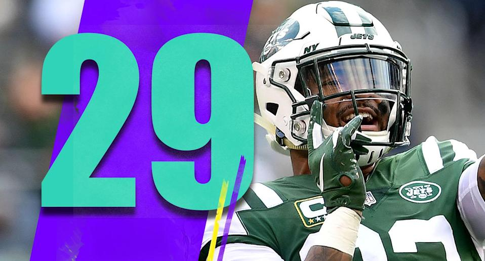 <p>Jamal Adams was all over the field again on Sunday, and he has become one of the best safeties in the NFL. Adams was the sixth overall pick of the 2017 draft, and it looks like a great choice for the Jets. (Jamal Adams) </p>