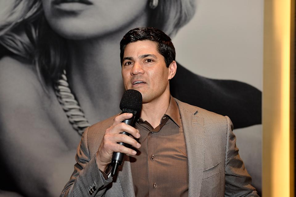 BOSTON, MA - APRIL 09:  Stroke survivor Tedy Bruschi speaks at the David Yurman In-Store event to celebrate the launch of the Albion Collection to benefit the American Stroke Association on April 9, 2015 in Boston, Massachusetts.  (Photo by Paul Marotta/Getty Images for David Yurman)
