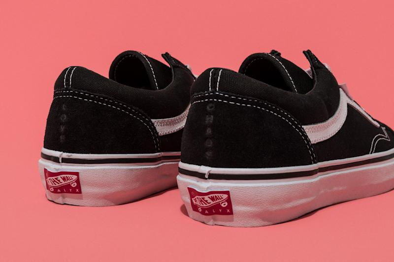 ed84cc3c4638d3 The Alyx x Vans Old Skools Aren t Really Old Skools At All