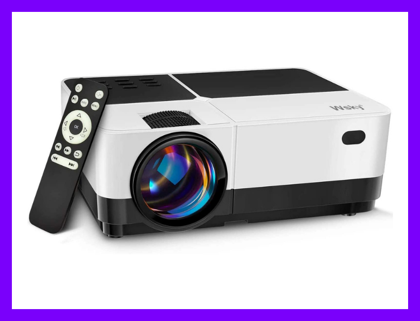Save $32 on the Wsky HD Video Projector. (Photo: Amazon)