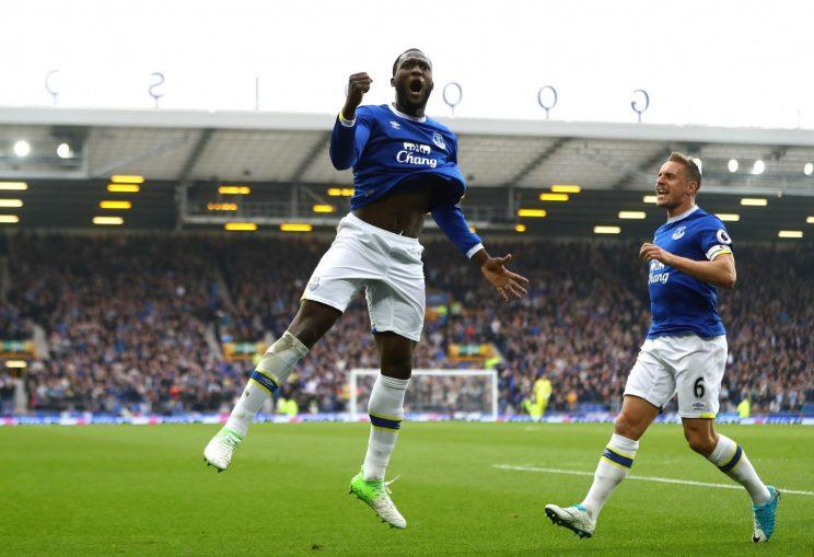 Romelu Lukaku looked dangerous against Leicester