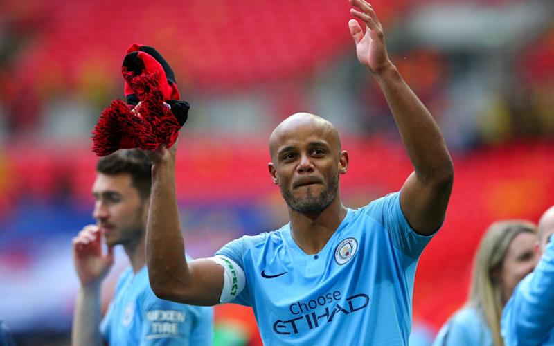 Vincent Kompany announced on Sunday that he is leaving Manchester City - Getty Images Europe