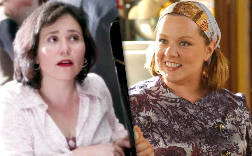 <p><b>Character: </b>Sookie St. James<br /><b>Original: </b>Alex Borstein<br /><b>Recast: </b>Melissa McCarthy<br /><b>The Scoop:</b> Borstein played the bubbly chef in the unaired pilot. She also happens to be married to Jackson Douglas, who appeared as Sookie's husband in the show. After McCarthy took over the role, Borstein made cameos as Drella the harpist and Emily's stylist, Miss Celine.</p><p><i>(Credit: The CW/Getty Images)</i></p>