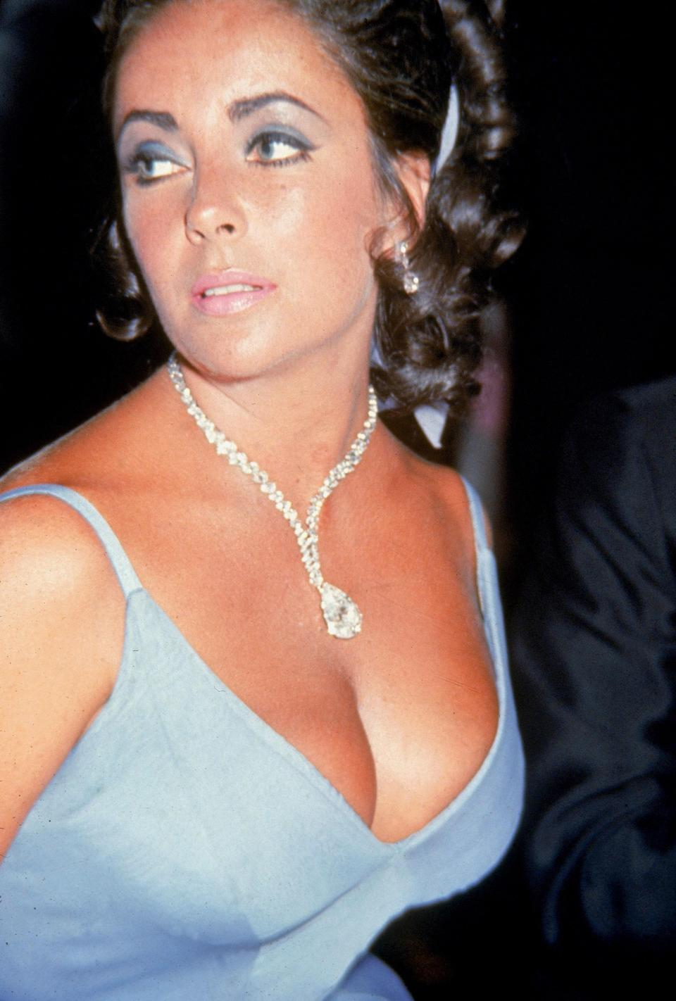 No discussion of iconic Hollywood jewelry would be complete without a nod to Elizabeth Taylor. The cinema icon's collection of baubles was expansive, but her most impressive piece was the Taylor-Burton diamond, a 68-carat stone purchased by Taylor and then husband Richard Burton in 1969. Formerly a ring, the oversized diamond was refashioned into a dazzling necklace that the actress wore to the 42nd Academy Awards.