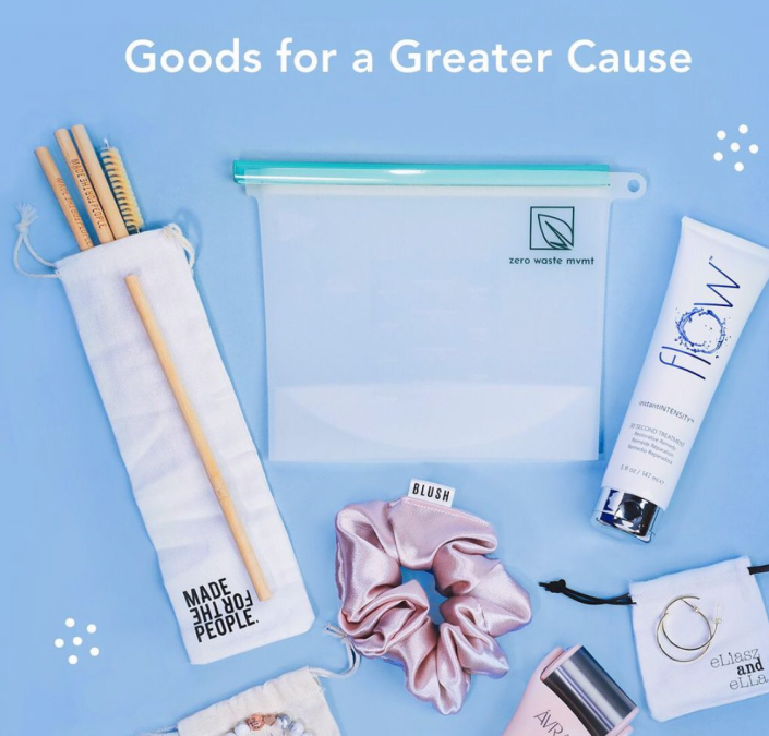 Perfect for the earth-conscious, green beauty enthusiast, The Purpose Package also supports a good cause.