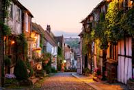 """<p>The small but characterful town of Rye, East Sussex - just 10 miles east of Hastings on England's sunny south coast – is an absolute treat to visit on a day out or for a longer <a href=""""https://www.redonline.co.uk/travel/inspiration/g35934512/best-staycations-uk/"""" rel=""""nofollow noopener"""" target=""""_blank"""" data-ylk=""""slk:staycation"""" class=""""link rapid-noclick-resp"""">staycation</a>.</p><p>You've got the lush and leafy High Weald AONB a stone's throw away, cobbled lanes like Wish Street and <a href=""""https://www.redescapes.com/offers/east-sussex-rye-mermaid-inn-hotel"""" rel=""""nofollow noopener"""" target=""""_blank"""" data-ylk=""""slk:Mermaid Street"""" class=""""link rapid-noclick-resp"""">Mermaid Street</a> with their romantic half-timbered houses, vintage shops and pubs, and upmarket cafes and restaurants. There's even a castle and a National Trust property with a literary past to explore. </p><p><a class=""""link rapid-noclick-resp"""" href=""""https://www.redescapes.com/offers/east-sussex-rye-mermaid-inn-hotel"""" rel=""""nofollow noopener"""" target=""""_blank"""" data-ylk=""""slk:EXPLORE RYE WITH RED"""">EXPLORE RYE WITH RED</a></p><p>Plus, you're never far from the beach at this fabulous town that makes for an excellent <a href=""""https://www.redonline.co.uk/travel/inspiration/g28744371/weekend-trips-from-london/"""" rel=""""nofollow noopener"""" target=""""_blank"""" data-ylk=""""slk:break from London"""" class=""""link rapid-noclick-resp"""">break from London</a>. The town's celeb residents (who over the years have included Spike Milligan and Vic Reeves) love it for its Old World charm and fresh sea air. </p><p>Even as Rye becomes more popular for day trips and weekends away, it still manages to avoid feeling overcrowded - in fact now's the <a href=""""https://www.redescapes.com/offers/east-sussex-rye-mermaid-inn-hotel"""" rel=""""nofollow noopener"""" target=""""_blank"""" data-ylk=""""slk:perfect time to visit"""" class=""""link rapid-noclick-resp"""">perfect time to visit</a>. So read on as we walk you through Rye's most stylish establishments and fun activities, from """
