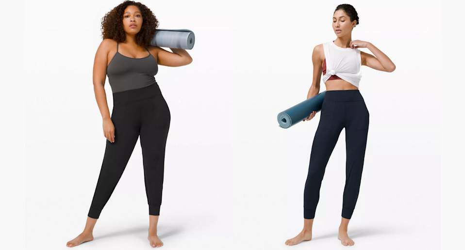 Lululemon's new Align Joggers are your new wear-everywhere style. Images via Lululemon.