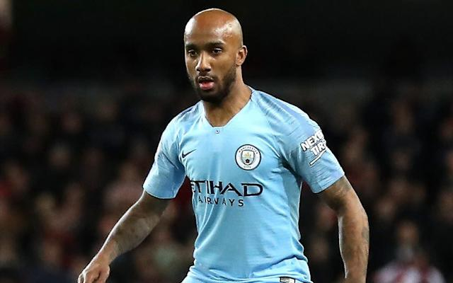 Fabian Delph has joined Everton for an initial £8.5million - PA