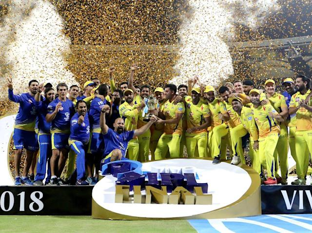 Chennai Super Kings beat Sunrisers Hyderabad to win Indian Premier League on their return from suspension