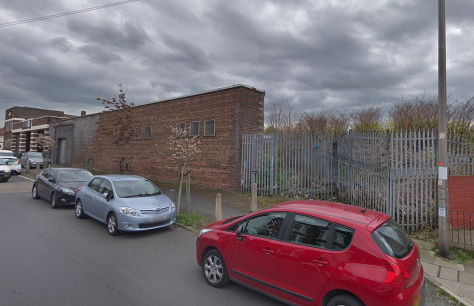 Police rushed to the tracks near Bedford Road in Bootle (pictured) after reports of a 'casualty'. (Google)