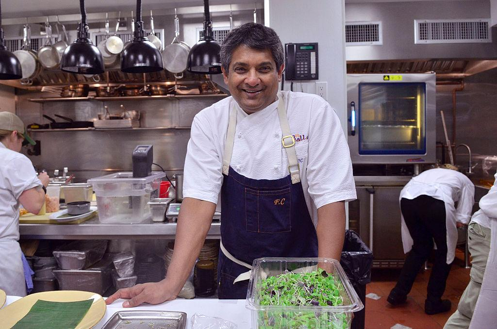 Floyd Cardoz died March 25 of the coronavirus. (Photo by Kris Connor/Getty Images for NYCWFF)