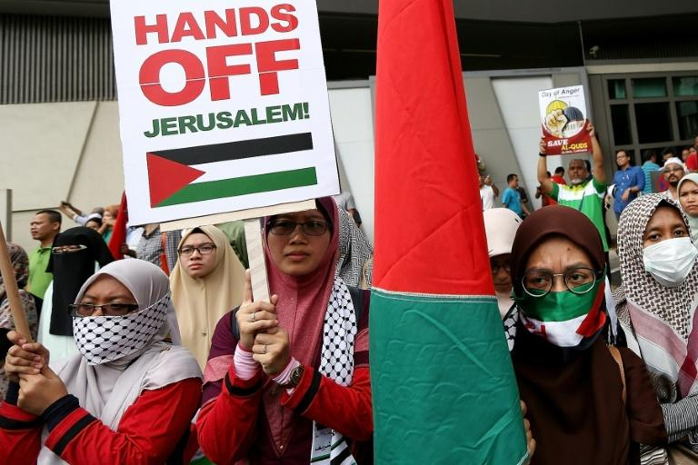 Malaysian celebs join in to protest capital status of Jerusalem