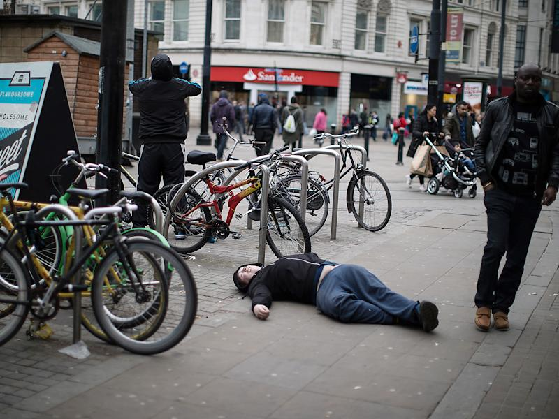 Legal high users in Manchester and other cities have been compared to zombies: Rex