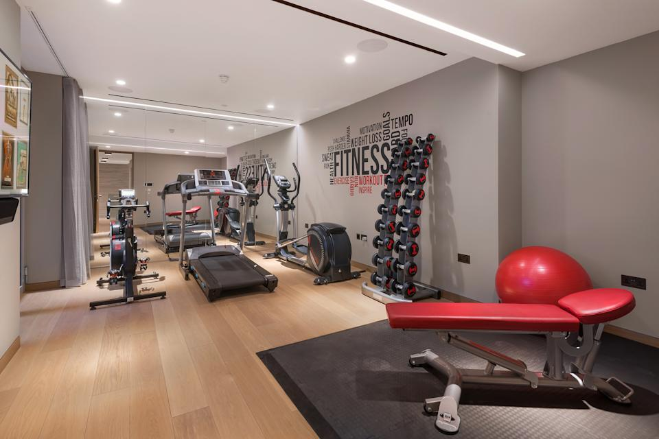 The first property comes with a private gym. Photo: Alex Lawrie/LC