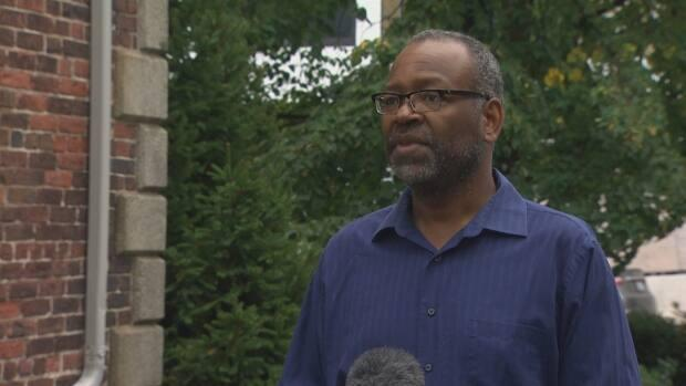 Robert Wright is a social worker and Black activist in Halifax. (CBC - image credit)