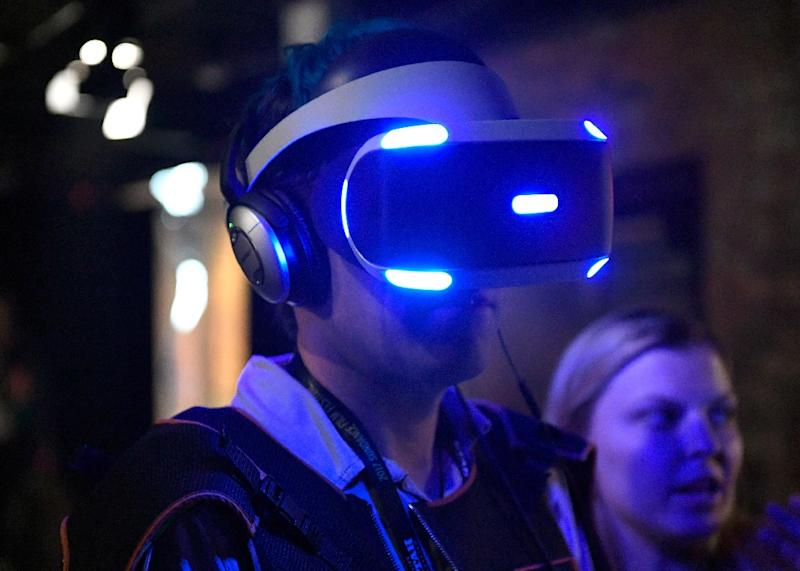 Not just fun and games: Virtual reality may also become useful for the treatment of mental health problems (AFP Photo/Matt Winkelmeyer)