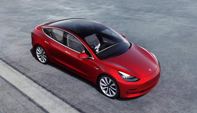 The Model 3 is Tesla's cheapest range (Tesla)