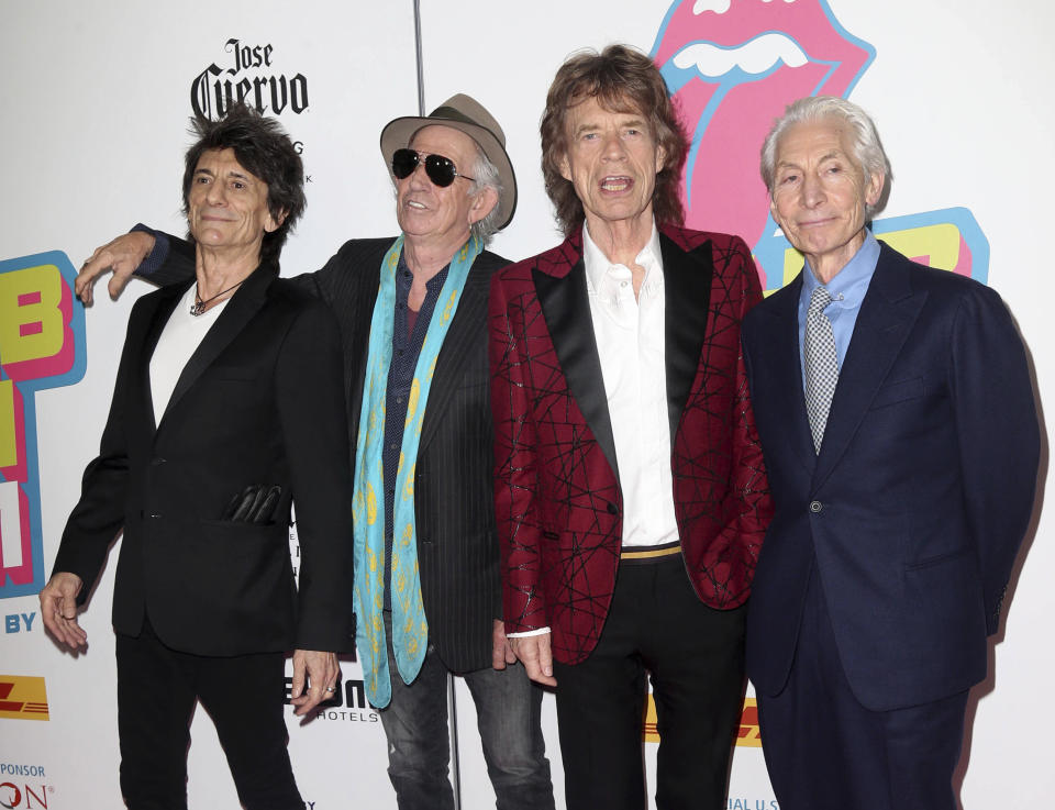The Rolling Stones. Foto: Associated Press