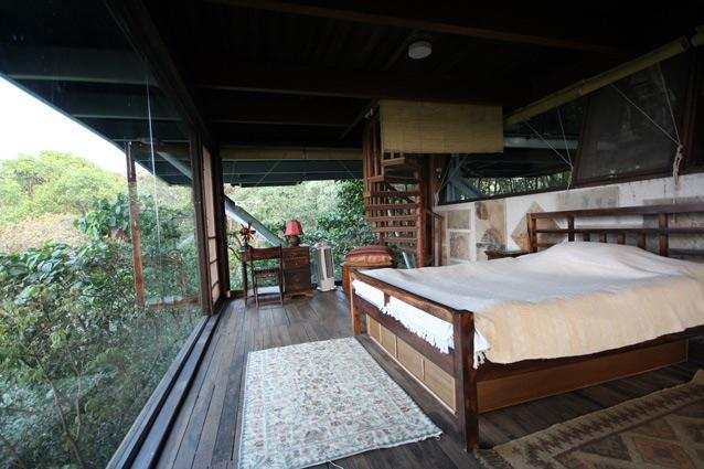 The Machan Lonavla - This chic hotel with four tree houses just off Lonavala's town centre is a boon for couples looking to escape the hustle and bustle of cities such as Mumbai and Pune. Located in Jambulne, a botanical hotspot, the luxury eco-resort's 30ft to 45ft high tree houses offer stellar views of clear, star-studded skies and the surrounding 25 acres of forestland.