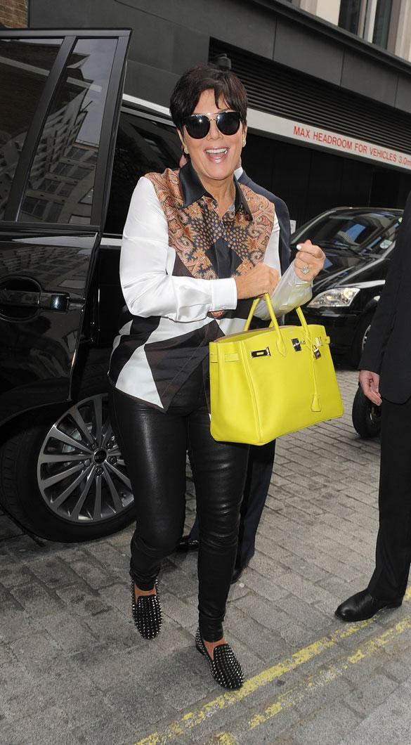 Kris Jenner To Welcome Chat Show Guests Into Of Her Mansion*