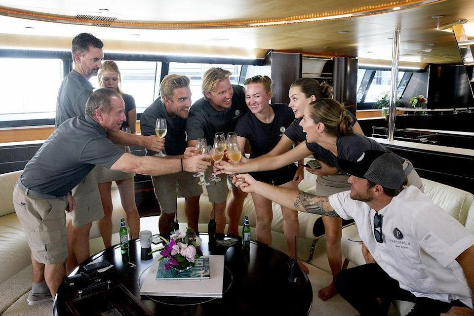 """<p>There are now three iterations of Bravo's <em>Below Deck</em>: the original, <em>Mediterranean</em>, and <em>Sailing Yach</em>t. If you've ever wondered what it's like to charter a yacht in some luxurious destination, then catching up on each and every <em>Below Deck</em> series is sure to satiate your vacay cravings. Plus, the crew can't stop hooking up and/or arguing, so it's always entertaining. <a class=""""link rapid-noclick-resp"""" href=""""https://go.redirectingat.com?id=74968X1596630&url=https%3A%2F%2Fwww.hulu.com%2Fseries%2F59be6e0d-8645-4793-8eea-0d1bead36899&sref=https%3A%2F%2Fwww.harpersbazaar.com%2Fculture%2Ffilm-tv%2Fg32355310%2Fshows-like-too-hot-to-handle%2F"""" rel=""""nofollow noopener"""" target=""""_blank"""" data-ylk=""""slk:WATCH NOW"""">WATCH NOW</a> </p>"""