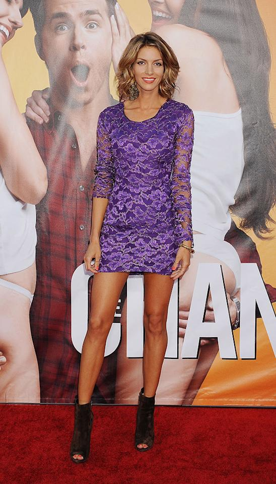 """Dawn Olivieri at the Los Angeles premiere of <a href=""""http://movies.yahoo.com/movie/1810155680/info"""">The Change-Up</a> on August 1, 2011."""