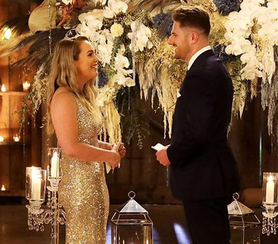 MAFS couple Melissa Rawson and Bryce Ruthven say their final vows to one another