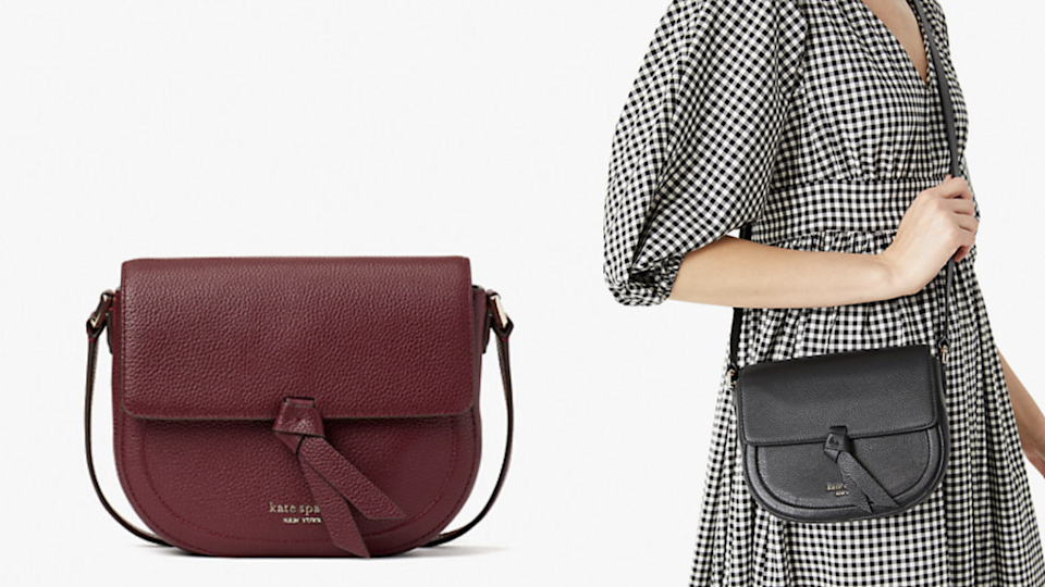 You can carry this crossbody all day, every day.