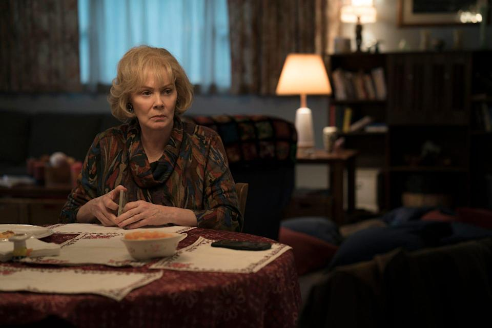 """""""I thought it was an unbelievable page-turner,"""" Jean Smart says of HBO mystery """"Mare of Easttown."""" """"You're  kept guessing until the very end."""""""
