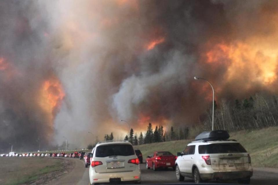 5 years ago today, 88,000 Albertans fled due to the Fort McMurray wildfire