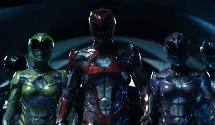 A new look for the Power Rangers - Credit: Lionsgate