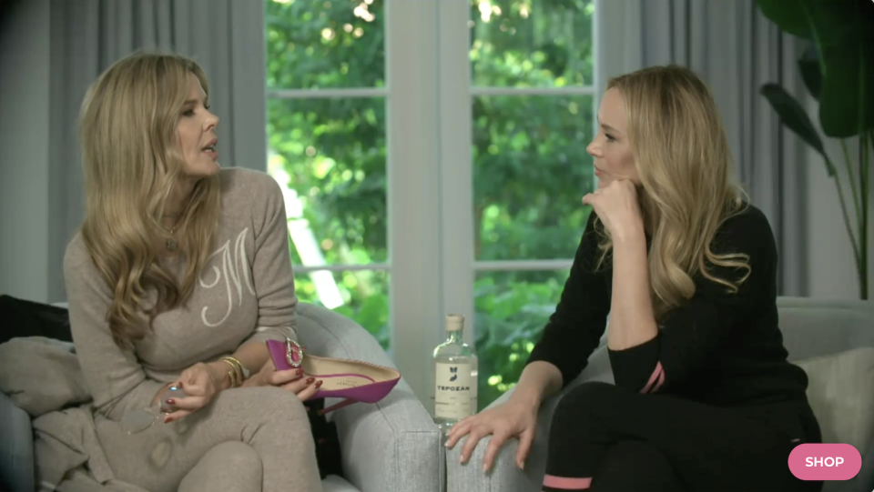 """Dee Ocleppo-Hilfiger and Mary Alice Stephenson on """"Dee Tales."""" - Credit: Courtesy of DeeOcleppo.com"""