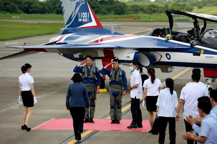 The United States has remained Taiwan's leading unofficial ally and arms supplier, but until recently Taiwan had struggled to buy new fighter jets (AFP Photo/HSU Tsun-hsu)