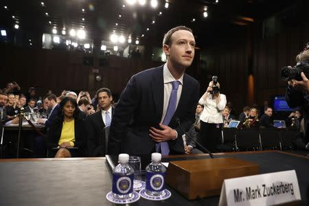 Facebook CEO Mark Zuckerberg faces congressional inquisition