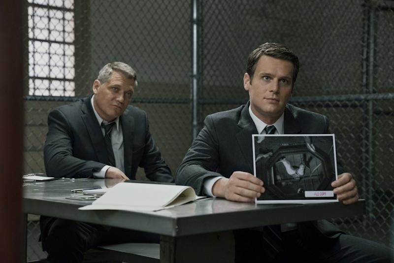 MINDHUNTER, Holt McCallany, Jonathan Groff, (Season 1, Episode 107, aired October 13, 2017), ph: Patrick Harbron / Netflix / courtesy Everett Collection