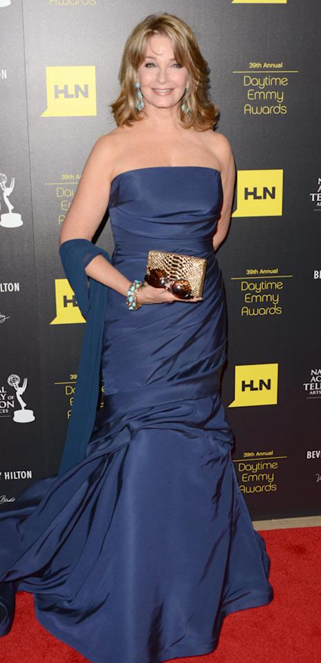 Deidre Hall arrives at The 39th Annual Daytime Emmy Awards held at The Beverly Hilton Hotel on June 23, 2012 in Beverly Hills, California.