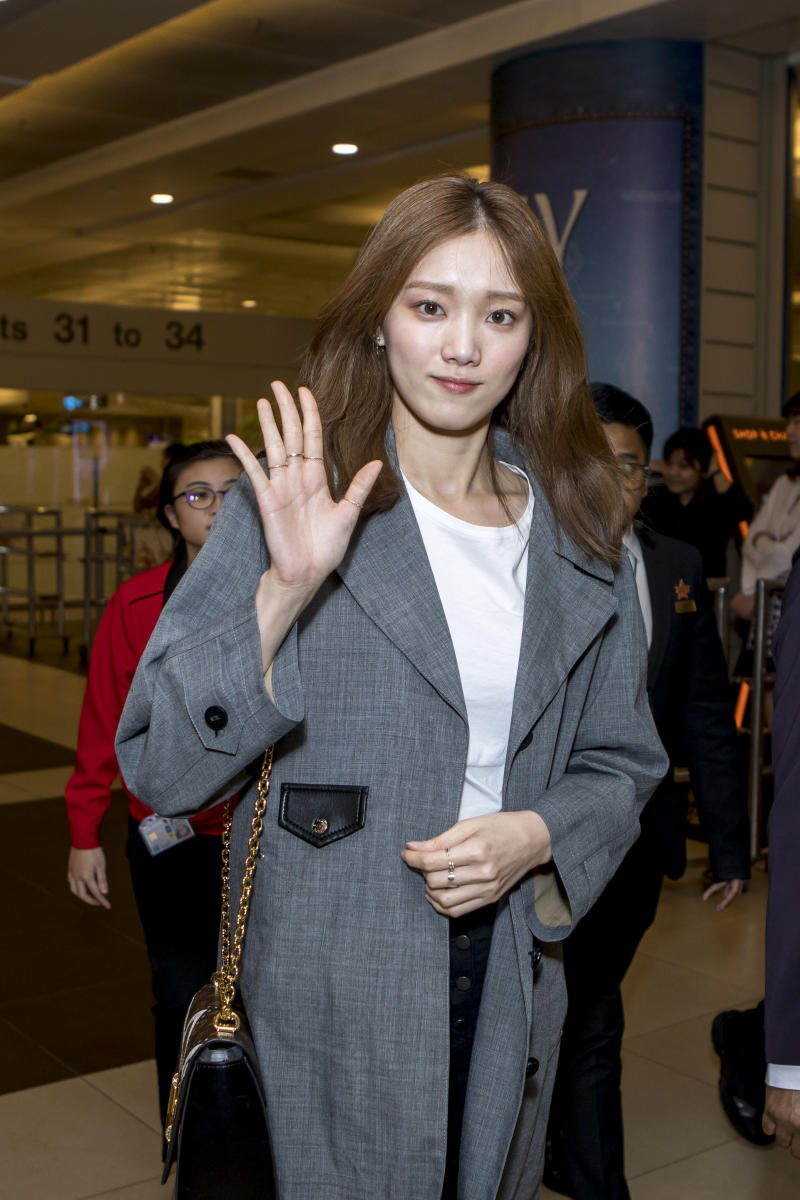 Lee Sung Kyung in Singapore for Louis Vuitton exhibition