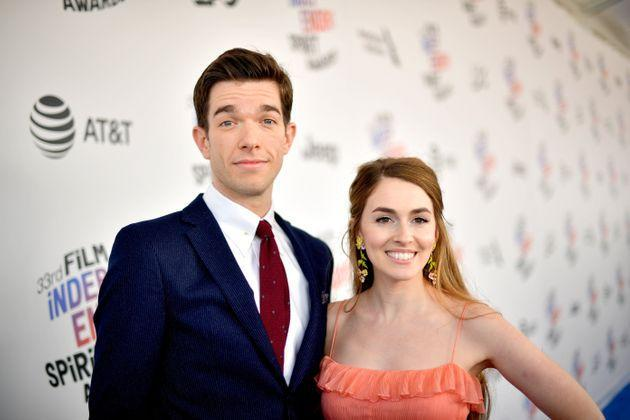 John Mulaney and Annamarie Tendler attended the 2018 Film Independent Spirit Awards together. Many comedy fans admit feeling strangely upset by their split. (Photo: Matt Winkelmeyer via Getty Images)