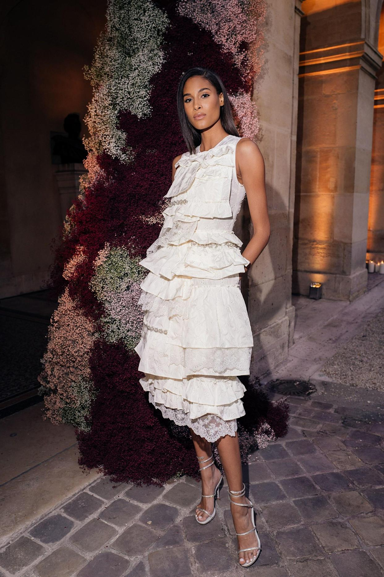 Bruna Laila moncler and mytheresa host a sunset dinner in paris to