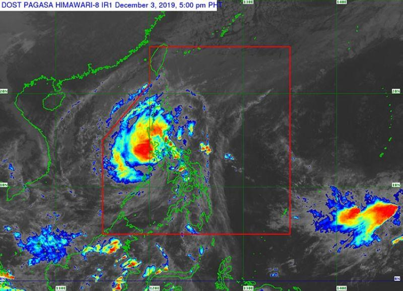 'Tisoy' continues to weaken, now off the coast of Occidental Mindoro