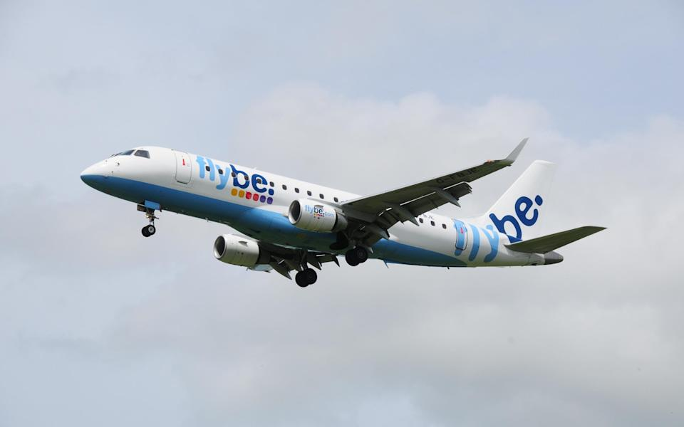 Flybe filed for administration in March 2020 - Getty