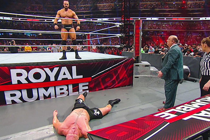 WWE Royal Rumble Results: Drew McIntyre Wins Men's Match; 'The Fiend' Bray Wyatt Reigns Supreme