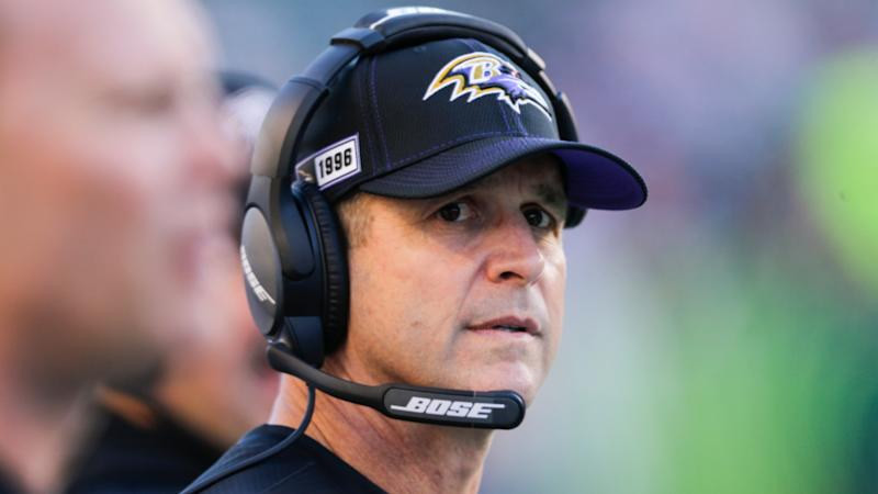 Coronavirus: Ravens coach Harbaugh worried by cybersecurity