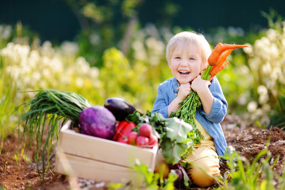 How to raise a vegan child [Photo: Getty]