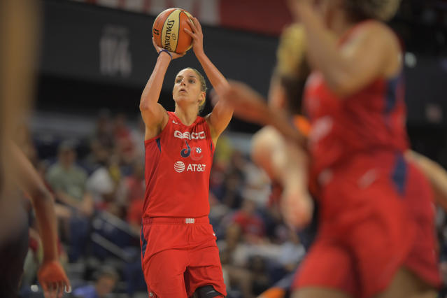 Elena Delle Donna has won her second WNBA MVP award. (Photo by John McDonnell/The Washington Post via Getty Images)