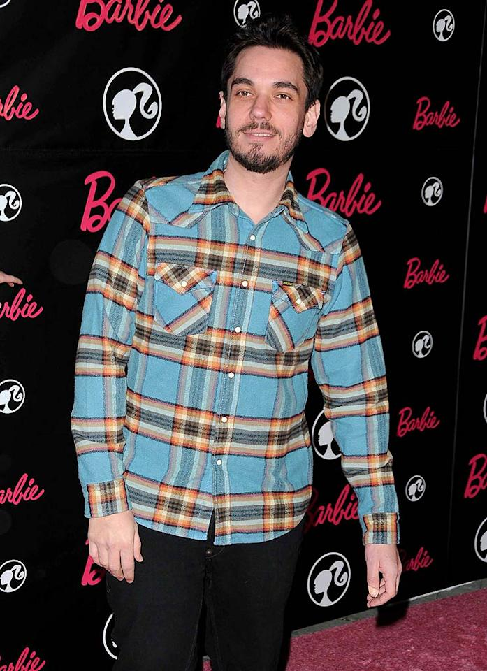 "We're not quite sure why DJ AM was at the event. Perhaps he spun a set in the Jonathan Adler-designed house. Entertainment Press/<a href=""http://www.splashnewsonline.com/"" target=""new"">Splash News</a> - March 9, 2009"