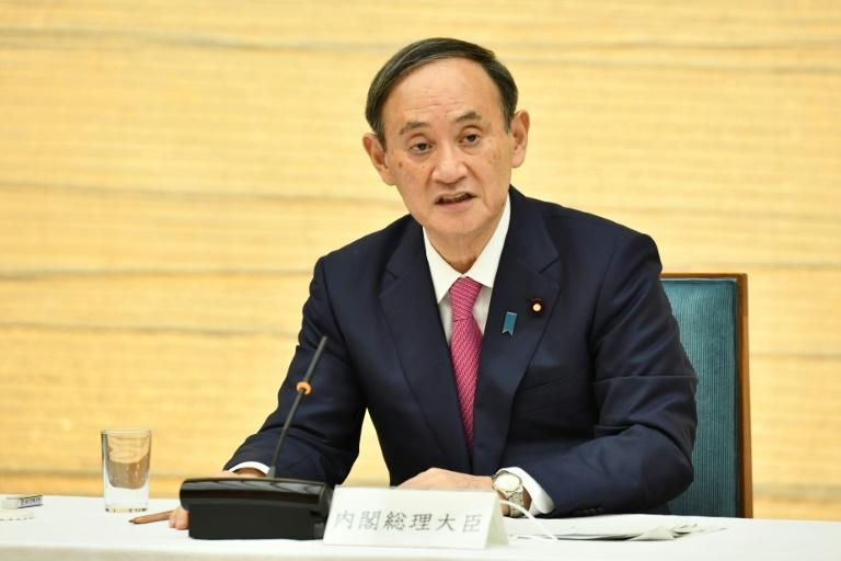 Japan's Prime Minister Yoshihide Suga said he planned to visit the US as soon as the pandemic allowed