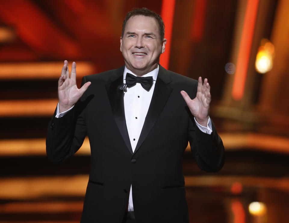 Norm Macdonald, here in 2016, has died from cancer.