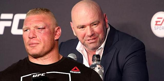 Brock Lesnar and Dana White